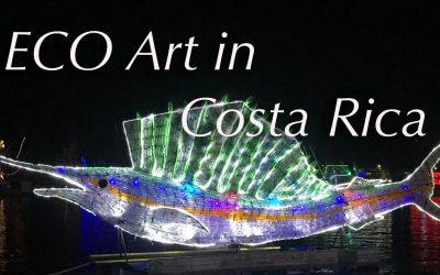 Community Eco-Art in Quepos!