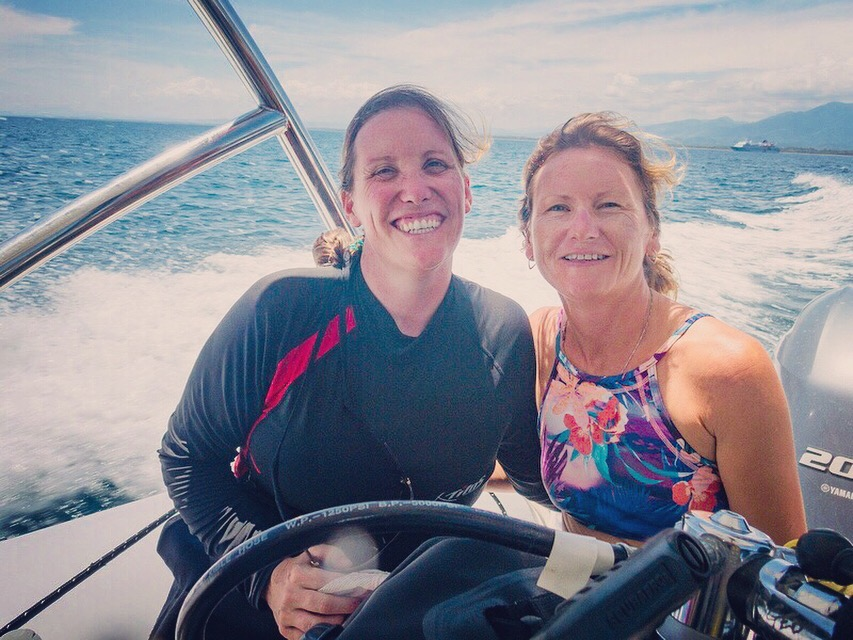 Marine Conservation Costa Rica Team - Geotgia King and Katharine Evans