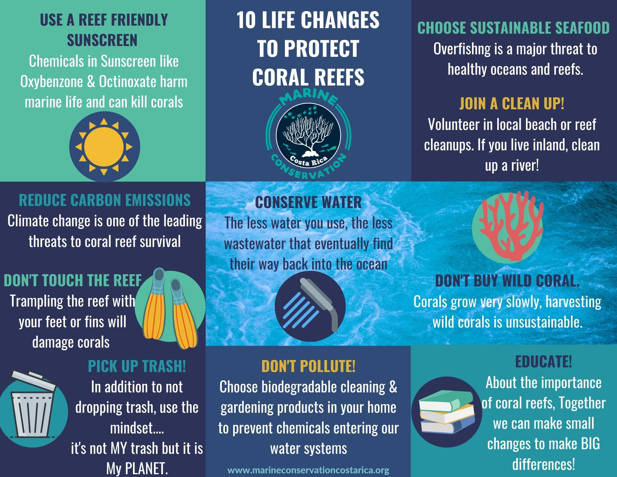 10 Life Changes to Protect Coral Reefs