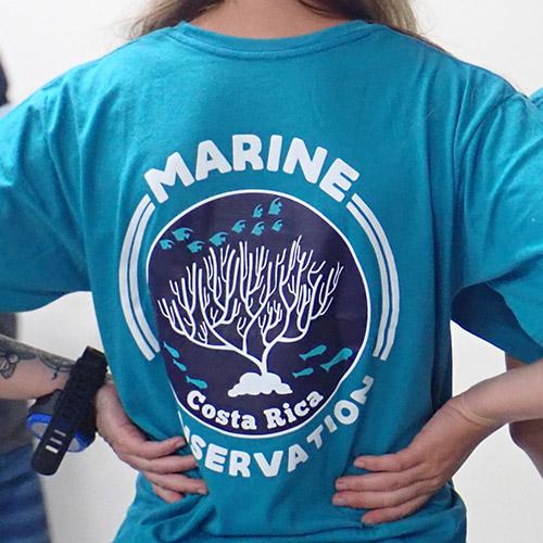 marine con tshirt